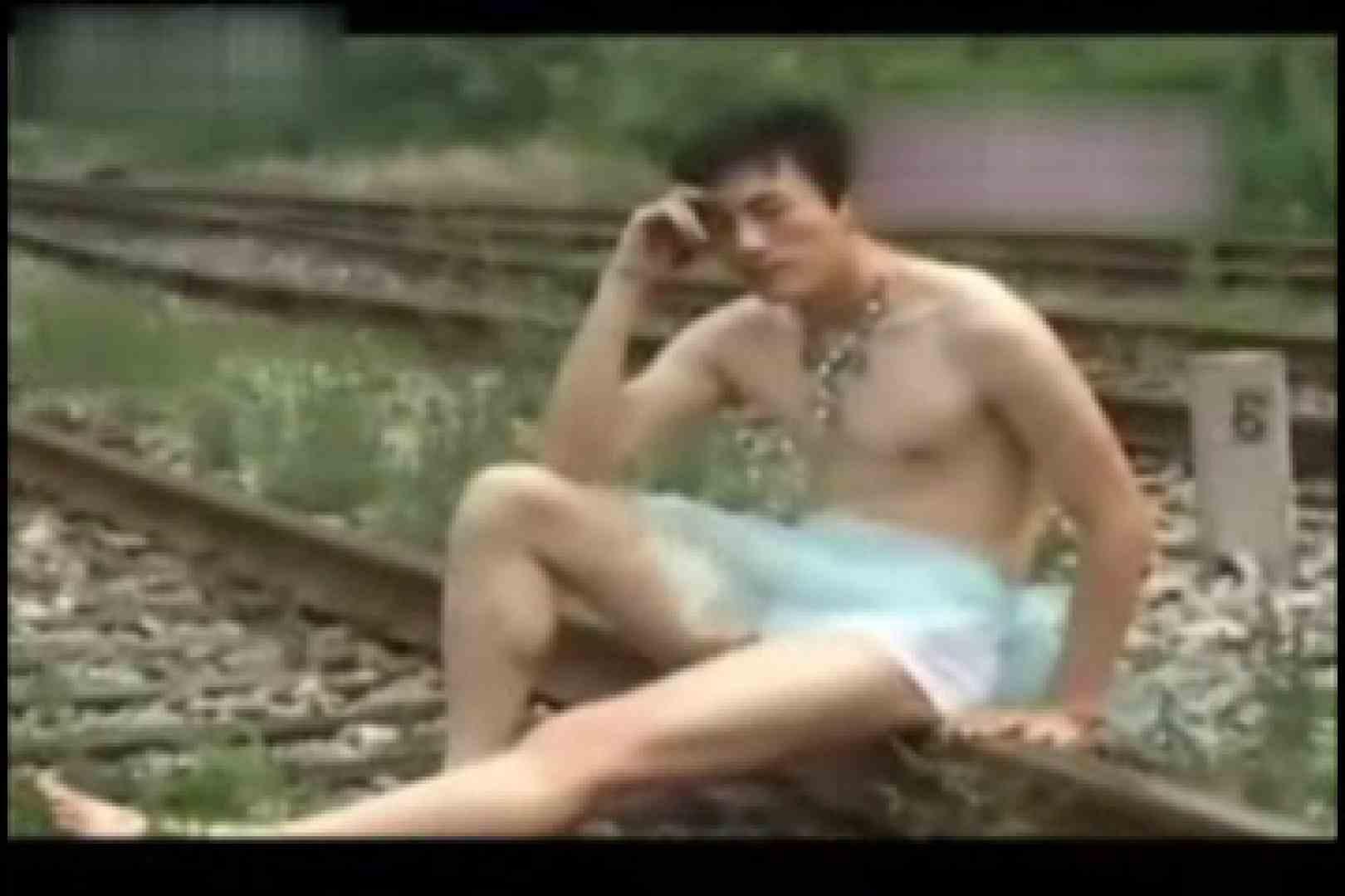中出有名ゲイ雑誌★魅力●生★付録DVD収録スーパーモデルヌードvol3 ゲイのモデル  8枚