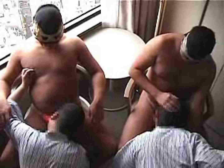 覆面レスラーvs兄貴のアナルタッグマッチ 男のゲイ天国  10枚